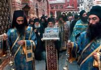 Крестный ход с Поясом Пресвятой Богородицы