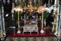 Ковчег, в котором хранится Пояс Пресвятой Богородицы