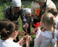 Посещение Воинского мемориала учениками Воскресной школы 10 мая 2014 г.
