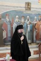 Открытие круглого стола. Наместник Спасо-Яковлевского монастыря игумен Августин (Неводничек)
