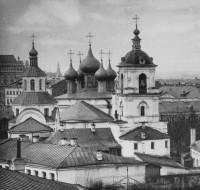 Московский Златоустовский монастырь. 1882 г.