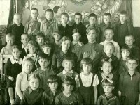 Группа детей. Первая половина 1940-х годов.
