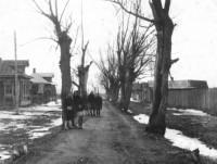 На улицах Ростова. 1940-е годы.