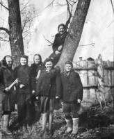 Ростовские девушки. 1940-е годы.