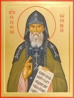 Икона преподобного Серафима Вырицкого.
