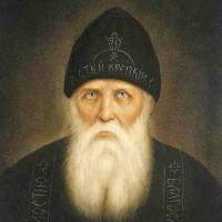Портрет прп. Серафима Вырицкого.