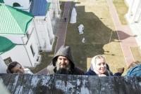 Участники «Пасхальной звонильной недели» в Спасо-Яковлевском монастыре 14 апреля 2018 г.