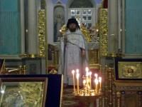 Праздничное богослужение в Димитриевском соборе 19 января 2018 г.