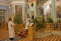 Рождественская служба в Спасо-Яковлевском монастыре в ночь на 7 января 2018 г.