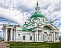 Димитриевский (Шереметевский) собор Спасо-Яковлевского монастыря.