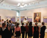 Занятие с детьми на Димитриевской выставке