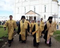 Праздничный крестный ход в день Собора Ростово-Ярославских святых 5 июня 2018 года