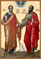 Образ святых апостолов Петра и Павла.