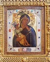 Ватопедский образ Божией Матери − келейная икона святителя Димитрия Ростовского
