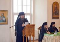 Выступление игумена Августина (Неводничека) на конференции «Заветы преподобного Серафима Саровского» 6 ноября 2018 г.