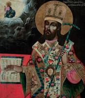 Икона св. Димитрия Ростовского из Рыбинского музея-заповедника. Вторая половина XVIII в.