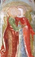 Образ Зачатия Пресвятой Богородицы Зачатиевского собора Спасо-Яковлевского монастыря.