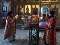 Богослужение на Светлой седмице в Спасо-Яковлевском монастыре. 2018 год, апрель