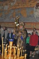 Литургия в Спасском храме, 2012 г