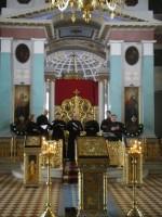 Выступление хора «Древнерусский распев в Спасо-Яковлевском монастыре