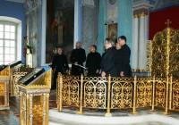 Выступление хора «Древнерусский распев в Спасо-Яковлевском монастыре, 2012 год