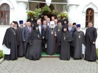 Празднование 70-летнего юбилея митрополита Пантелеимона. Фото – сентябрь 2011 г.