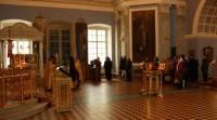 Молебен Свт. Димитрию в Димитриевском храме. Фото 2011 года.