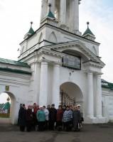 В гостях у монастыря