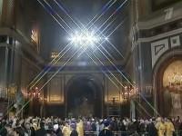 Тысячи верующих устремились к храму Христа Спасителя поклониться Поясу Пресвятой Богородицы. Фото 2011 г.