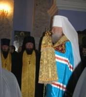 Всенощное бдение в Димитриевском храме 9 ноября 2011 г.