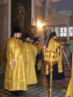 </p> <p>Божественная литургия в Димитриевском храме. Фото 4 октября 2011 </p> <p>г.