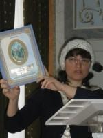 Мария Рубцова представляет книгу «Преосвященный батюшка» , 2012 г.