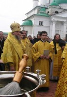 Празднование обретения мощей Святителя Димитрия. Фото 4 октября 2011 г.