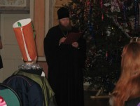 ёлка в монастыре 2011 год