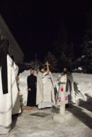 праздник Крещения Господня в  монастыре 2011 год
