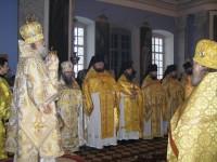 Митрополит Пантелеимон с духовенством ростовского благочиния,2012 год.