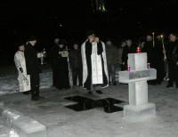 Праздник Крещения в монастыре, 2012 год.