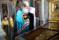 У мощей святителя Димитрия Ростовского 12 сентября 2017 г.