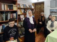 Беседа «Уроки столетия: 1917–2017» в монастырской библиотеке 17 декабря 2017 г. Выступление К. Е. Квашниной.