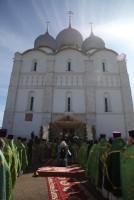 Богослужение в день празднования Собора Ростово-Ярославских святых 5 июня 2017 г. Фото с сайта Ярославской митрополии.