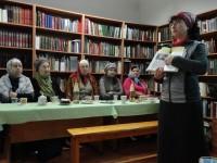 Беседа «Уроки столетия: 1917–2017» в монастырской библиотеке 17 декабря 2017 г. Выступление М. Л. Рубцовой.