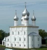Спасо-Песоцкий храм, в подклете которого располагалась церковь прп. Сергия Радонежского
