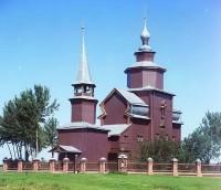 Церковь Иоанна Богослова. Фото С.М. Прокудина-Горского 1911 г.