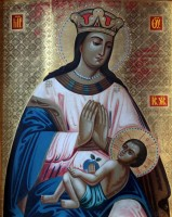 Список иконы Божией матери «Умиление - Ростовская» из Спасо-Яковлевского Димитриева монастыря.