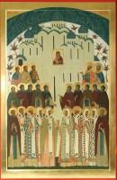 Икона Собор Ростово-Ярославских святых.