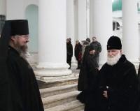 Первое посещение Спасо-Яковлевского монастыря митрополитом Ярославским и Ростовским Вадимом 4 января 2020 г.