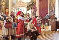 Исполнение «Ростовского действа» в Димитриевском соборе Спасо-Яковлевского монастыря в январе 2020 года