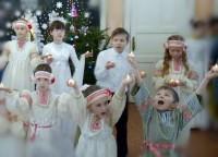 Праздничное Рождественское выступление учеников Воскресной школы. 2020 год.