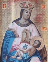Почитаемый список иконы Богородицы «Умиление-Ростовской» из Спасо-Яковлевского Димитриева монастыря