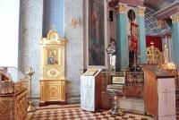 Образ Богородицы «Умиление-Ростовской» в интерьере Димитриевского собора Спасо-Яковлевского Димитриева монастыря
